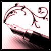 Flowy Fountain Pen Icon by Glisten-Images