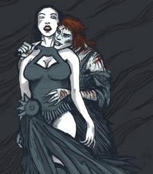 Thilius and Sildia by Nemethon