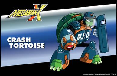 MMX Fan Maverick - Crash Tortoise by justicefrog
