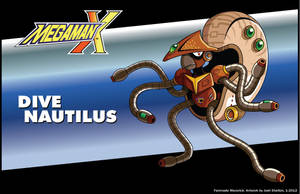 MMX Fan Maverick - Dive Nautilus by justicefrog