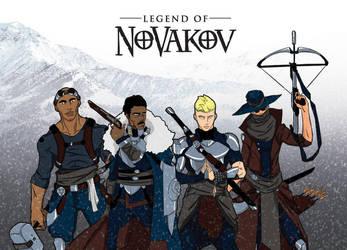 Groupshot - Legend of Novakov by justicefrog