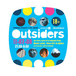 Outsiders flyer - recto by eowen