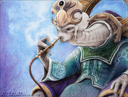 Prophet of Regret by Lady-Owl