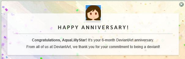 6 months? by AquaLillyStar