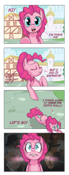 Pinkie Pie VS The Fifth Wall by UC77