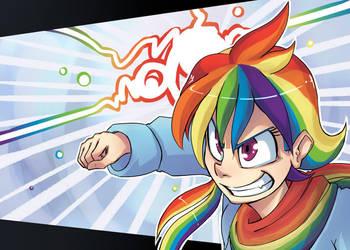 Rainbow SMASHING by UC77