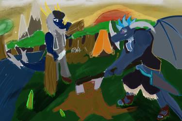 Lumberjack by heart  by NadleehWolfDragon000