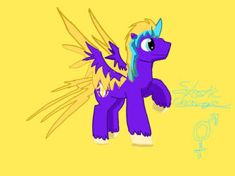 Static charge , a bronie in the making  by NadleehWolfDragon000