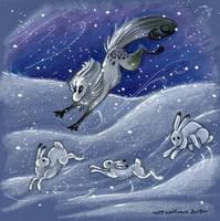 The Wild Hares by vladimirsangel