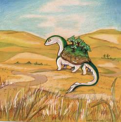 Nebraska Sandhills Big Boi by vladimirsangel