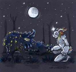 October FFA Wk 3 Sidequest: Lizard Whisperer by vladimirsangel