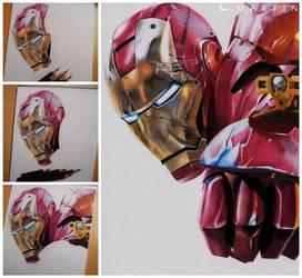 .: Iron Man ~ WIP edition :. by Martin--Art