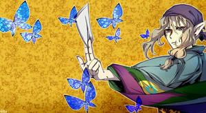 mononoke coloured1 by Bunnyhana