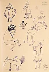 Doodling around by DoisPontoseMeio