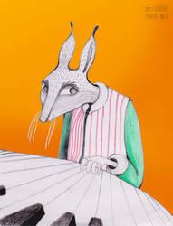 Piano Echo by DoisPontoseMeio