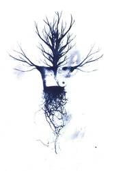 Blue Tree by SevincYusifova
