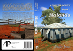 Paperback Cover: Azimut South 1 - Malanda by darkphoenix