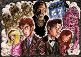 Doctor Who 50th anniversary by GabyhChaN