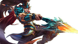 Mobile Legends Alucard transparent by b-la-ze on DeviantArt