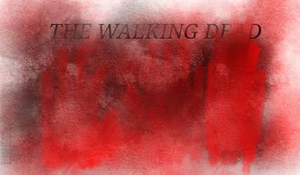 the walking dead fan art!  by Reptile829
