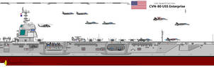 CVN-80 USS Enterprise by Davinci975