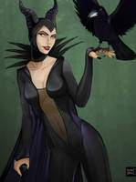 Maleficent! by Teban1983