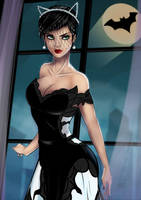 Catwoman Wedding dress by Teban1983