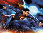 Superman in flight by JPRart