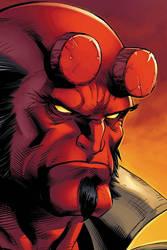 Hellboy by JPRart