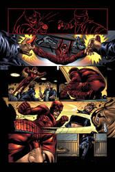 Daredevil page 12 by JPRart