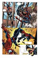 Bagley Spider-man page 2 by JPRart