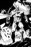 Batman Inks by JPRart