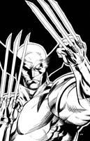 90's Wolverine Ink by JPRart