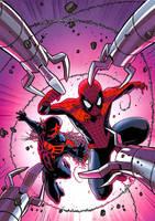 Spectacular Spider-Man cover10 by JPRart