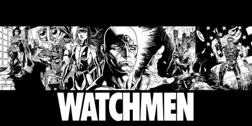 Watchmen Inks by JPRart