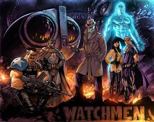 WS Watchmen by JPRart