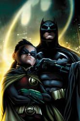 Batman and Robin by JPRart