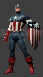 USO Captain America 1 by JPRart
