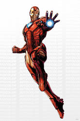 Avengers Iron Man by JPRart