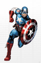 Avengers Captain America by JPRart