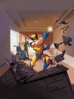 X-Men origins 32 by JPRart