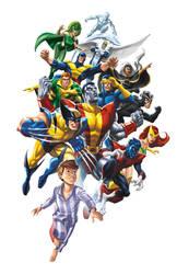 MARVEL Origins X-Men by JPRart