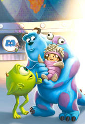 MONSTERS Inc by JPRart