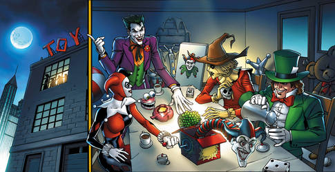 Batman 4-5 by JPRart