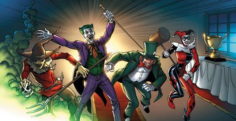 Batman 12-13 by JPRart