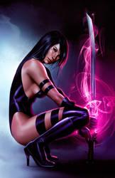 Psylocke by JPRart