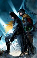 Batman-Robin by JPRart