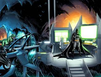 Batman page 4 by JPRart
