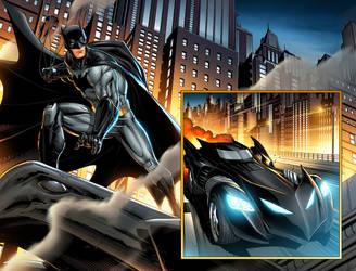 Batman  page 3 by JPRart