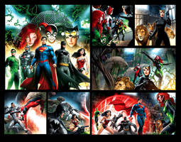 Justice League pages 2 by JPRart